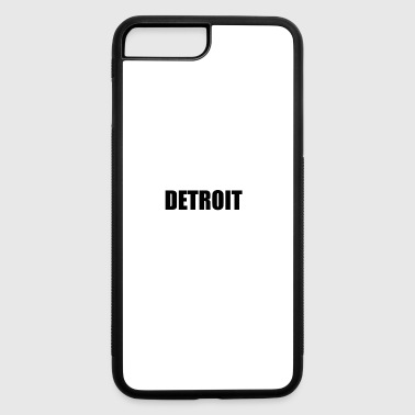 Detroit DETROIT - iPhone 7 Plus/8 Plus Rubber Case