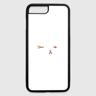 Mammy Of A Warrior Autism Awareness - iPhone 7 Plus/8 Plus Rubber Case