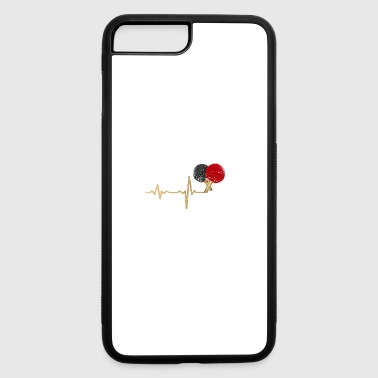 gift heartbeat table tennis - iPhone 7 Plus/8 Plus Rubber Case