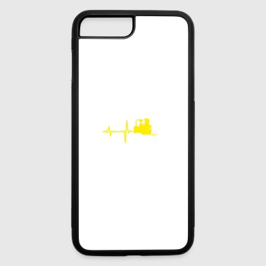 gift heartbeat forklift driver - iPhone 7 Plus/8 Plus Rubber Case