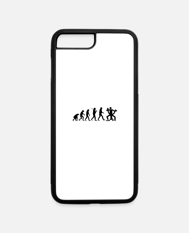 Naughty iPhone Cases - Sex Evolution - iPhone 7 & 8 Plus Case white/black