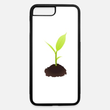 Plant Grounds Growing Plant - iPhone 7 Plus/8 Plus Rubber Case