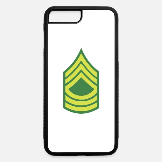 Army iPhone Cases - Airforce Master Sergeant - iPhone 7 & 8 Plus Case white/black