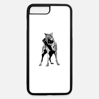 Sporty Sporty Wolf - iPhone 7 Plus/8 Plus Rubber Case