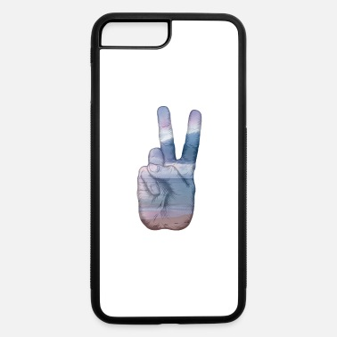 Hand Symbol Peace Hand Symbol - iPhone 7 & 8 Plus Case