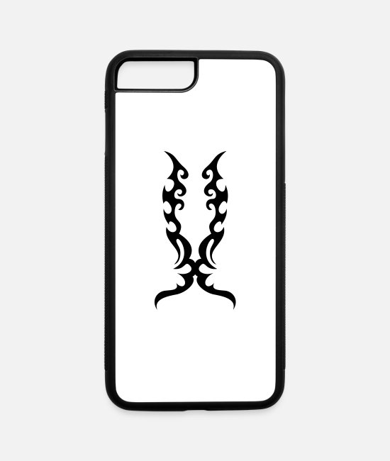Graphic Art iPhone Cases - TATOO 5 - iPhone 7 & 8 Plus Case white/black
