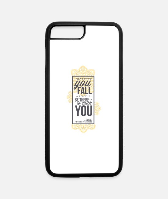 Heart iPhone Cases - fall - iPhone 7 & 8 Plus Case white/black