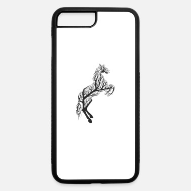 Western Horse Tree Riding Dressage Western Stallion Gift - iPhone 7 & 8 Plus Case