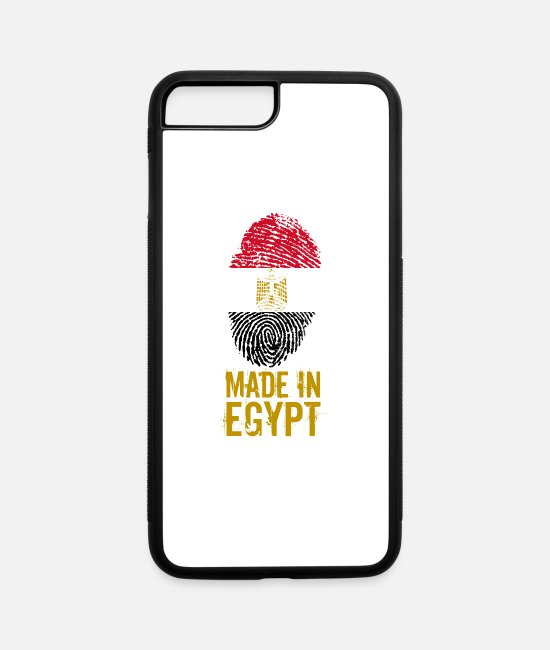 Nil iPhone Cases - Made in Egypt / مصر - iPhone 7 & 8 Plus Case white/black