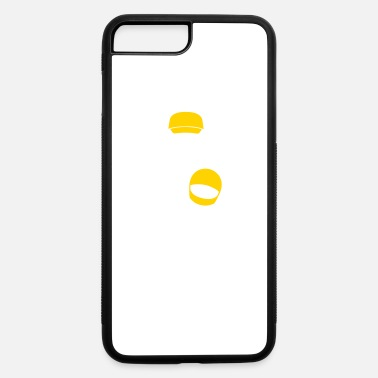 Minimum A Racer With Helmet - iPhone 7 Plus/8 Plus Rubber Case