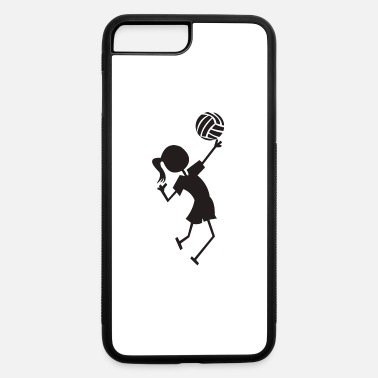 Volley Volley ball girl - iPhone 7 Plus/8 Plus Rubber Case