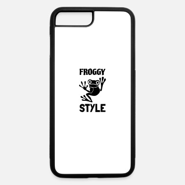 Froggy Froggy style frog - iPhone 7 & 8 Plus Case