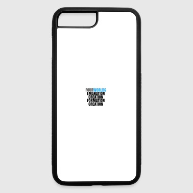 Kabbalah Four Worlds and the process of creation. - iPhone 7 Plus/8 Plus Rubber Case
