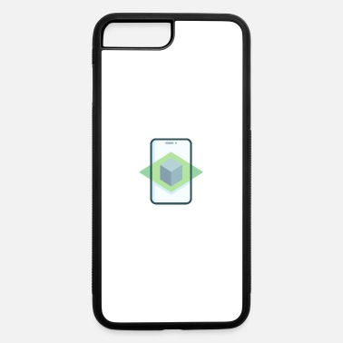 Augmented 021 augmented reality - iPhone 7 & 8 Plus Case
