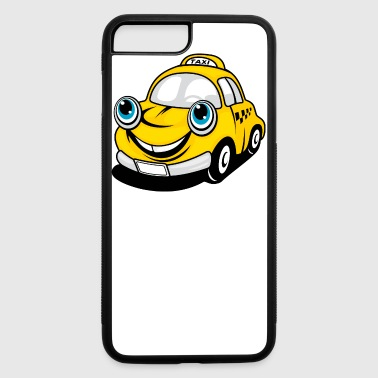Funny Taxi Cartoon Car - iPhone 7 Plus/8 Plus Rubber Case