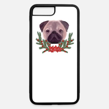 Hassel Free Pug dog - iPhone 7 & 8 Plus Case