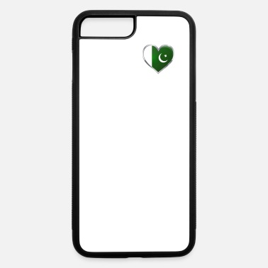 I Love Pakistan Heartbeat Pakistani Pride Shirt - iPhone 7 & 8 Plus Case