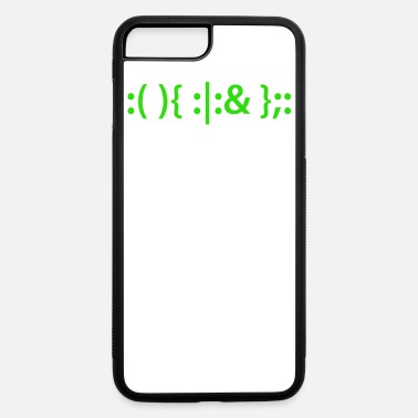 Fork Bomb Bash Fork Bomb Shirt for Linux Unix Geeks - iPhone 7 & 8 Plus Case