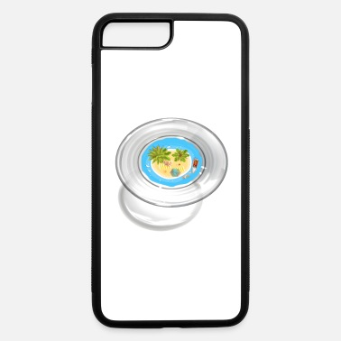 Caribbean Island in the glass - iPhone 7 & 8 Plus Case