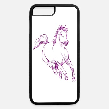 Dressage Cool horse - iPhone 7 & 8 Plus Case