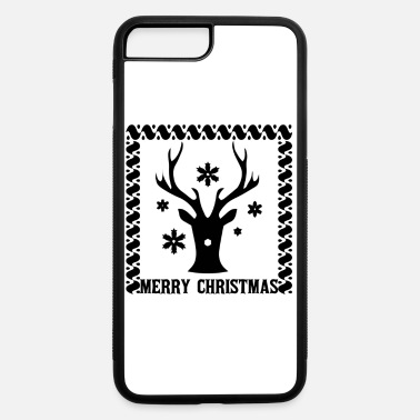 Reindeer Quote Merry Christmas Xmas Reindeer Winter Quotes - iPhone 7 & 8 Plus Case