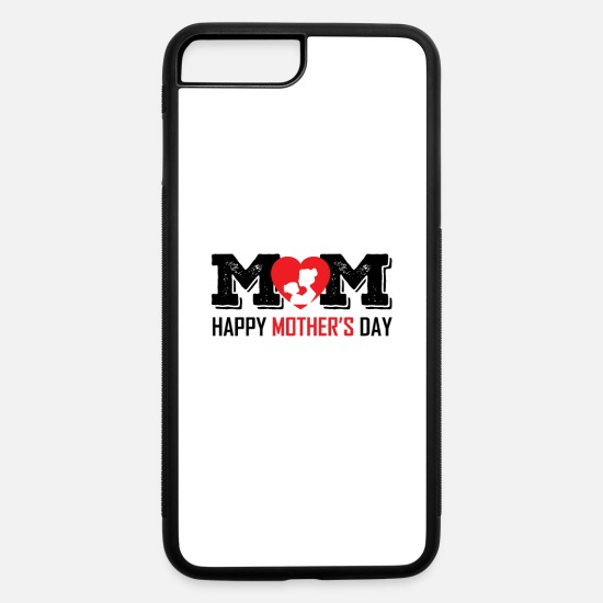 Birthday iPhone Cases - Mother - iPhone 7 & 8 Plus Case white/black