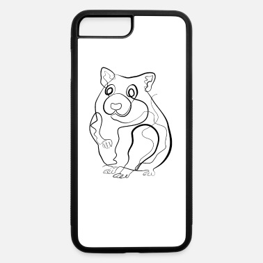 Little Mouse Mouse Little mouse- one line drawing - iPhone 7 & 8 Plus Case
