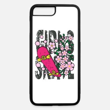 Teens Skateboarding Girls Grungy Style Gift for Teens - iPhone 7 & 8 Plus Case