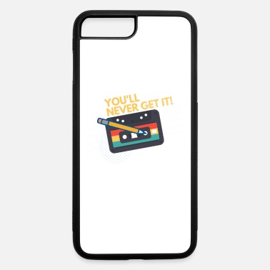 Audio Audio Cassette Tape and Pencil You'll never get it - iPhone 7 & 8 Plus Case