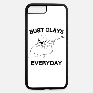Range Funny Bust Clays Everyday Gun Lover product - iPhone 7 & 8 Plus Case