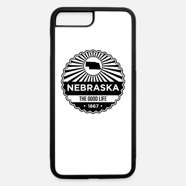 State Motto Nebraska State Motto design - The Good Life - iPhone 7 & 8 Plus Case