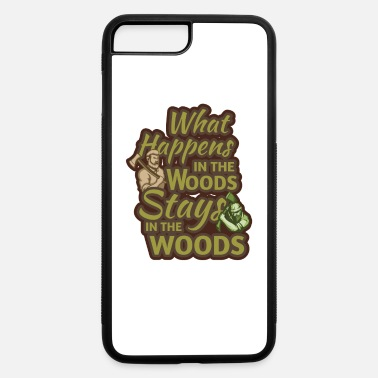 Tree Lumberjack, Wolf, Plaid - iPhone 7 & 8 Plus Case