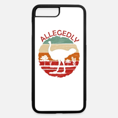 Hilarious Allegedly Ostrich Retro Zoo Farms Flightless Bird - iPhone 7 & 8 Plus Case