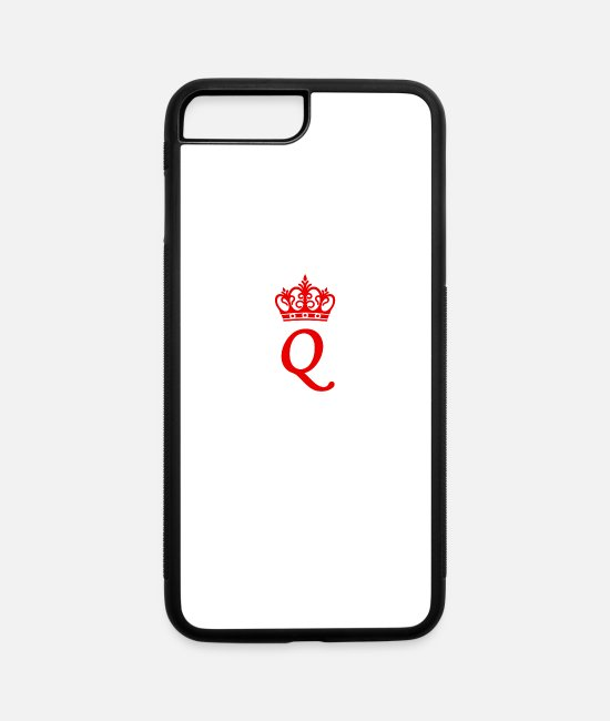 Royalty iPhone Cases - Queen - iPhone 7 & 8 Plus Case white/black