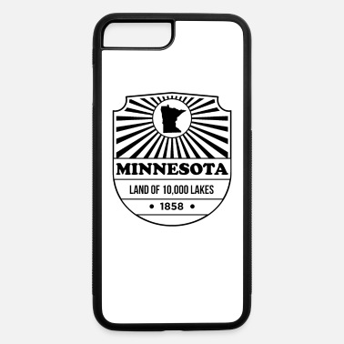 State Motto Minnesota State Motto design - Land of 10,000 - iPhone 7 & 8 Plus Case