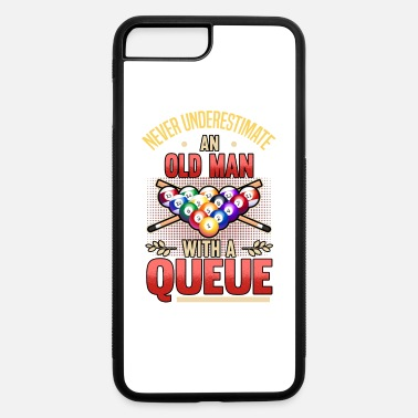 Queue billard pool sports snooker queue birthday - iPhone 7 & 8 Plus Case