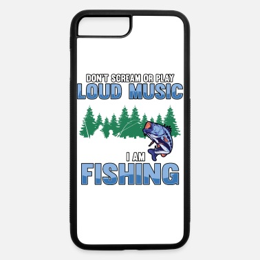 Bass Fishing fishing fish fisherman bass rod sport sea water - iPhone 7 & 8 Plus Case