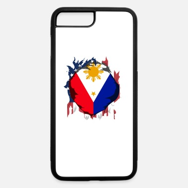 American Grown wirt Filipino Roots - iPhone 7 & 8 Plus Case