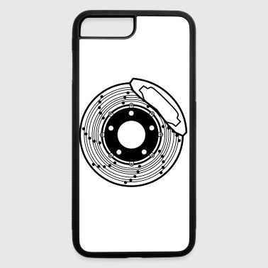 brake disc, brake, disc, car, bike, motorcycle - iPhone 7 Plus/8 Plus Rubber Case