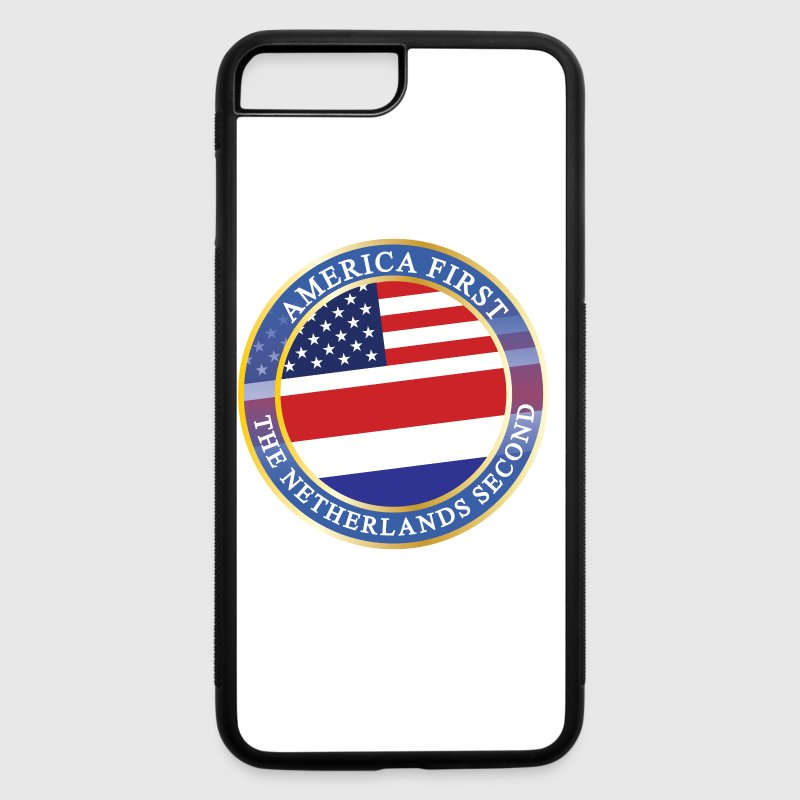 AMERICA FIRST THE NETHERLANDS SECOND - iPhone 7 Plus/8 Plus Rubber Case