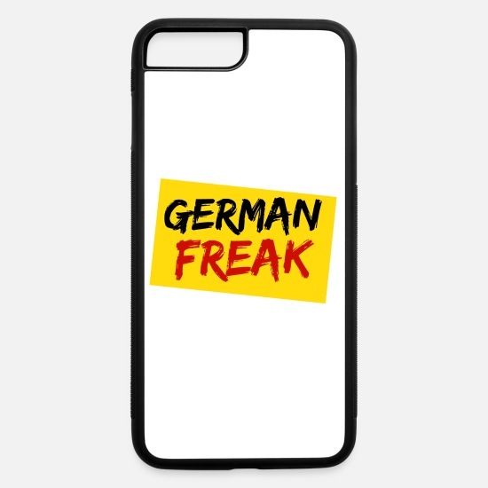 Germany iPhone Cases - German Freak - iPhone 7 & 8 Plus Case white/black