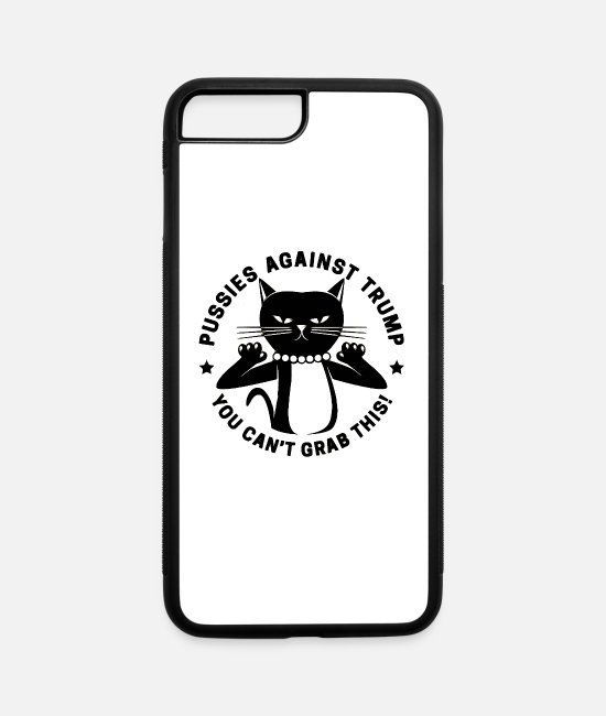 Cd iPhone Cases - dont grab my pussy - iPhone 7 & 8 Plus Case white/black