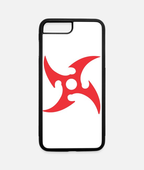 Propeller iPhone Cases - propeller weapon - iPhone 7 & 8 Plus Case white/black