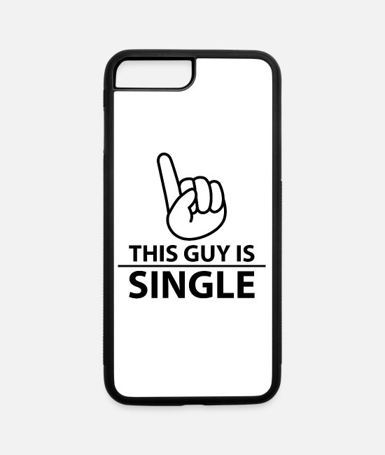 Bachelorette Party iPhone Cases - Single - iPhone 7 & 8 Plus Case white/black