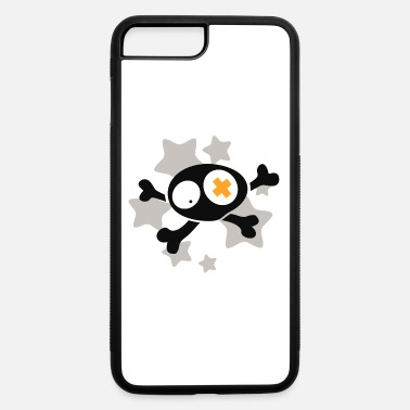 Asterisk Skull with asterisks - iPhone 7 & 8 Plus Case