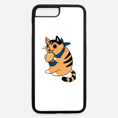 Beautiful Burger Burger cat with bandana - iPhone 7 & 8 Plus Case