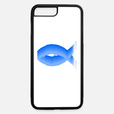 Kreuz Christianity fish symbol - iPhone 7 & 8 Plus Case
