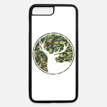 Deer Hunting Patch Deer Hunting Camouflage Patch - iPhone 7 & 8 Plus Case