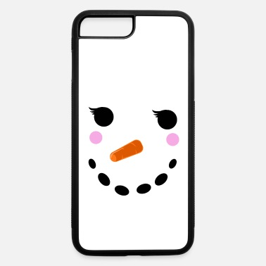 Winter Snowman Winter Snow - Christmas Girl - iPhone 7 & 8 Plus Case