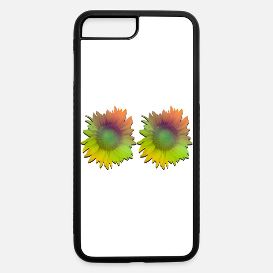 Sunflower iPhone Cases - Pair Sunflowers - iPhone 7 & 8 Plus Case white/black